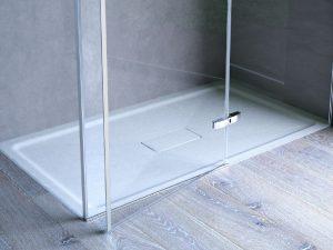 scelta del box doccia disenia vetro trasparente