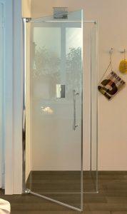scelta del box doccia nicchia battente inda