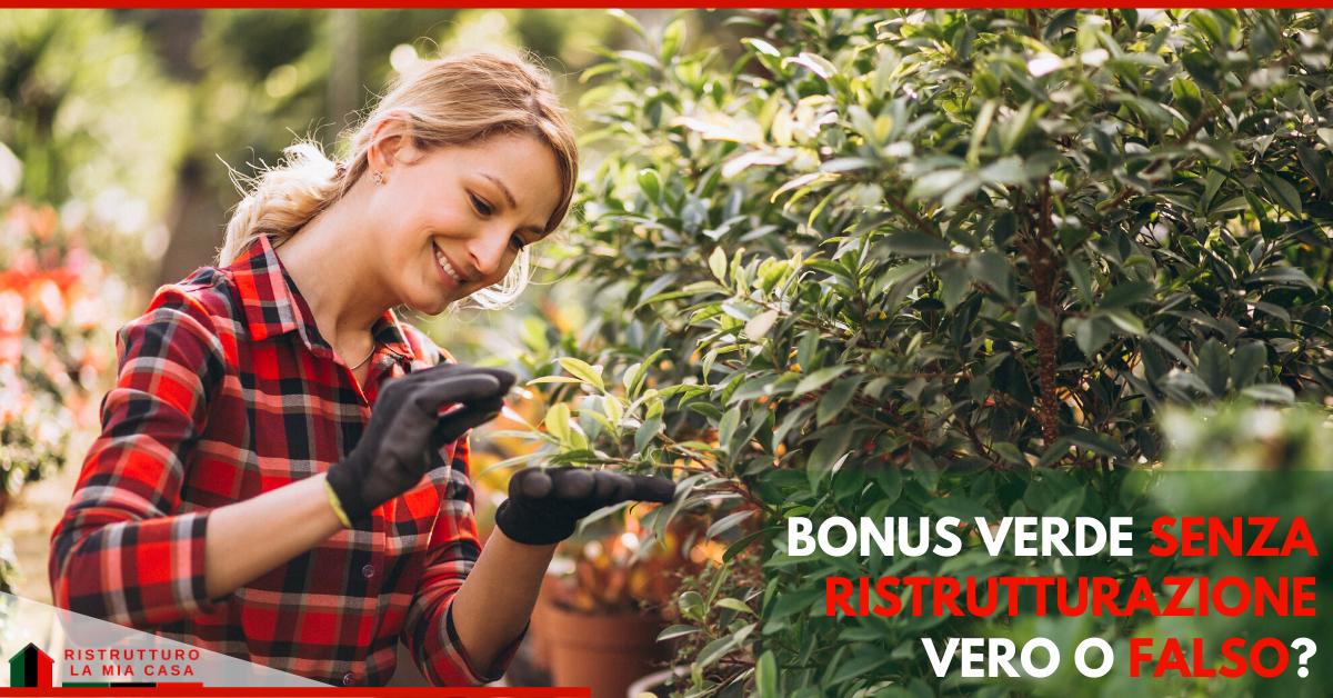 Bonus verde 2020-bonus verde lavori-bonus verde senza ristrutturazione-ristrutturolamiacasa