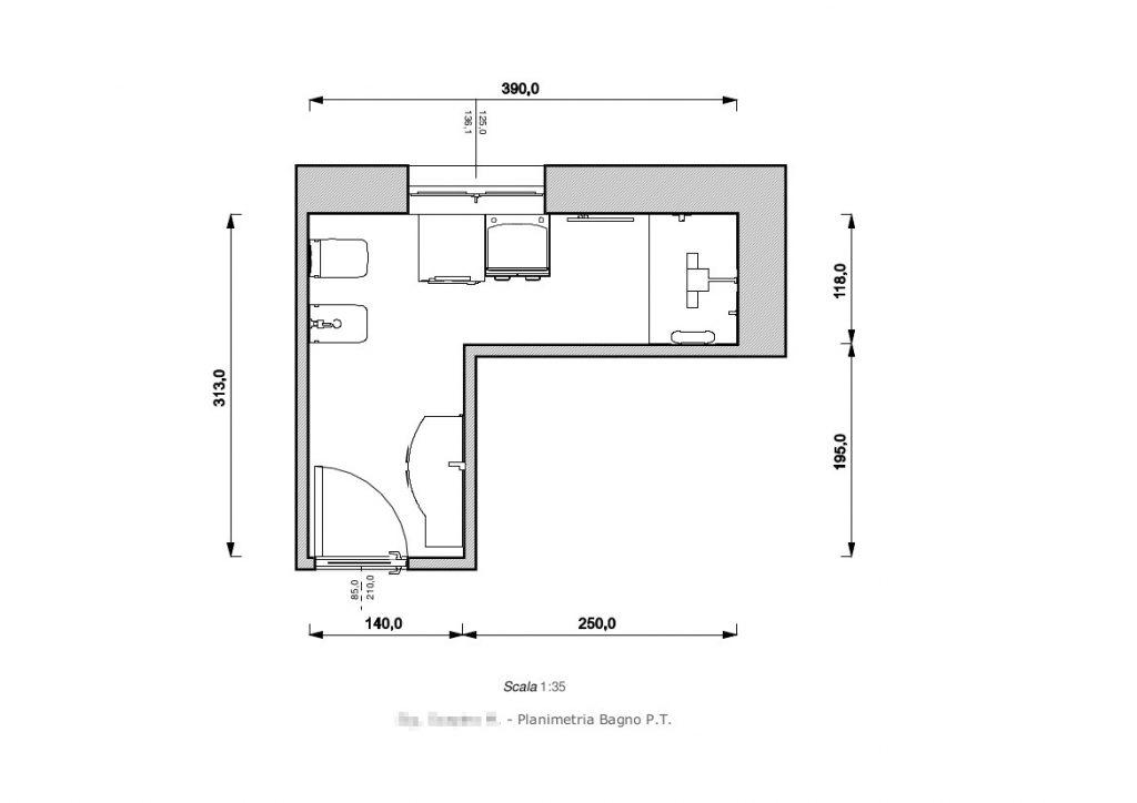 Progetto Un bagno senza Fondamenta - Ristrutturo la Mia Casa